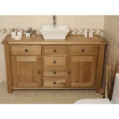 Find This Pin And More On Beautiful Bathrooms Oak Vanity Units
