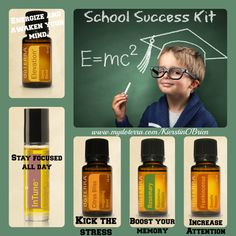 School Success Kit for all ages!  Kindergarten to your PhD!  This kit has what you need to succeed.  To learn more about essential oils and their uses, head over to my Facebook page:  https://www.facebook.com/groups/KierstinsdoTERRAEssentialOils/ To purchase the oils head over here:  mydoterra.com/KierstinOBrien