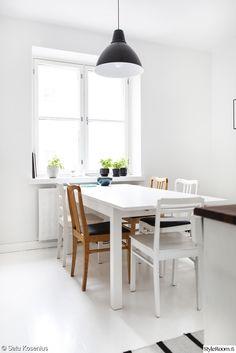 ruokapöytä,ruokailuryhmä,yrttiruukku,valkoinen ruokapöytä,keittiö