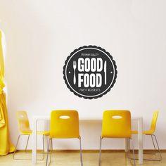 Wandtattoo - Good Food