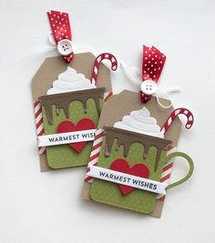 Diy christmas cards 414542340702934924 - Christmas Holiday Winter Hot Cocoa Gift Tags-Set of 2 Source by luciabcobos Homemade Christmas Cards, Christmas Gift Wrapping, Christmas Paper, Diy Christmas Gifts, Handmade Christmas, Christmas Holidays, Etsy Christmas, Christmas Tables, Holiday Gift Tags