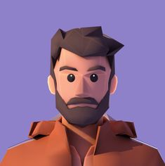 Low Poly character design for Unreal Project Simple Character, 3d Model Character, Character Modeling, Character Concept, Character Art, Character Design Tutorial, Character Design Inspiration, Blender 3d, Low Poly Models
