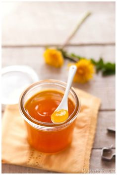 Gelée de fleurs de pissenlit au citron