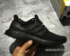 "f291f1f15fa Women Men Adidas Ultra Boost 3.0 ""Triple Black"" Outlet Discount"