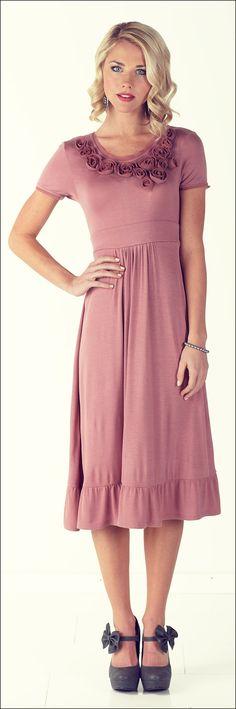 mikarose pink dress