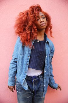 Musician to Know: SZA   Man Repeller--- great colour