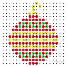 Kerst Xmas Cross Stitch, Cross Stitch Cards, Cross Stitch Patterns, Christmas Charts, Christmas Perler Beads, Christmas Ornament, Ornaments, Stitching On Paper, Art Perle