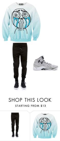 """""""Clothes for spanish 4"""" by ilovemyhamstertobby on Polyvore featuring Dolce&Gabbana, Chicnova Fashion, Under Armour, men's fashion and menswear"""