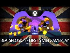 Beatsplosion for Kinect First 5 Minutes Game Play on Xbox One Minute Game, Nintendo 64, Xbox One, Games To Play, Youtube, Youtubers, Youtube Movies