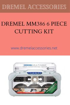 Dremel MM386 6-Piece Cutting Kit. Imagine the possibilities. Greater versatility for a wide range of useful applications.Kit includes MM300 adapter which allow Multi-Max accessories to be compatible with all oscillating tools in the market place. Dremel Accessories, Range, Kit, Tools, Instruments, Stove, Range Cooker, Utensils, Appliance