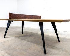 Bench Steel Legs Set of 2 Steel Bench Legs Bench Legs, Metal Table Legs, Mid Century Modern Furniture, Midcentury Modern, Pipe Table, Modern Bench, Woodworking Bench, Dining Bench, Steel