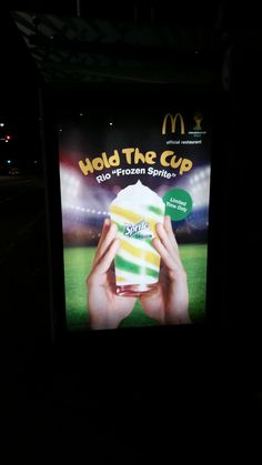 How are we suppose to move into an age of sustainability when massive corporations such as FIFA allow countries with no infrastructure and a growing poverty and drug crisis to spend millions in order to hold a football tournament? It's no big surprise that McDonalds has jumped on this injustice to make a quick buck.