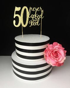 50 sah noch nie so gut Kuchen Topper-50. Cake topper