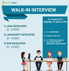 We are an application development company providing various career opportunities for young minds to join our family. Application Development, Software Development, Grab The Opportunity, 3 Pm, Career Opportunities, Job S, Fill, Interview, Science