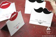 Free Printable Lips and Mustache Wedding Escort Cards Moustache Party, Mustache Cards, Mustache Theme, Free Wedding, Perfect Wedding, Our Wedding, Wedding Seating, Wedding Table, Party