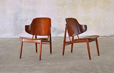 Ib Kofod-Larsen Shell Chairs