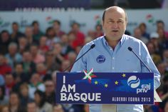 """""""Euskadi será una Nación Europea próspera y ejemplar, a nuestro ritmo y en nuestro camino, pero vamos a llegar""""."""