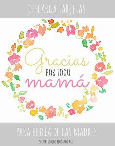 Descarga tarjetas para el día de las Madres