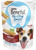 Purina Beneful Healthy Smile Ridges 10 Count Dental Dog Snack Small  Medium 74 OZ Pack of 10 * Find out more about the great product at the image link. (Note:Amazon affiliate link)