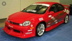 2000-2002 Dodge Neon SXT ground effects kit. Front/Rear Air Dam Side skirts