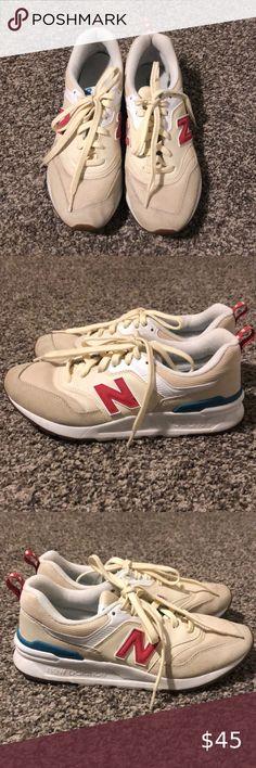 New Balance 997H Sneaker Uomo CM997HAG Light Grey White Orange