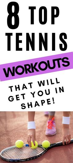 Are you looking to improve your fitness for tennis season? These workouts focus on strengthening your arms, legs, and abs which you will want strong for tennis season. Cardio workout ideas included as well. Tennis Lessons, Tennis Tips, Sport Tennis, How To Play Tennis, Cross Training Workouts, Tennis Funny, Workout Ideas, Workout Challenge, Tennis Workout