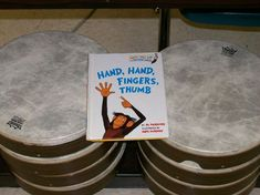 HAND, HAND, FINGERS, THUMB by Al Perkins is a text I use with my kindergarten classes each year. If read properly, it is filled with rhy. Music Lessons For Kids, Music Lesson Plans, Drum Lessons, Music For Kids, Piano Lessons, Kids Songs, Baby Songs, Kindergarten Music, Preschool Music