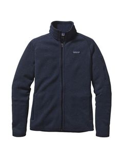 patagonia women's better sweater jacket classic navy