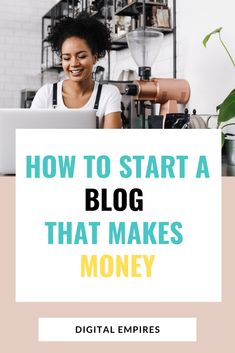 How to start a money-making blog and get traffic immediately. This is a complete guide on how to start a blog on WordPress, through from having idea to getting traffic to your new blog. Start your blog the right way with my easy to follow guide for complete beginners. #startablog #bloggingtips #bloggingforbeginners #bloggingformoney Make Blog, How To Start A Blog, Make More Money, Make Money Blogging, Europe On A Budget, Guide To The Galaxy, Blogging For Beginners, News Blog, Pinterest Marketing