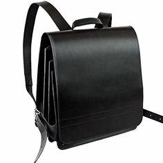 Großer Lederrucksack aus strapazierfähigen Rindsleder für Frauen und Männer mit den Maßen (ca.) 39 x 34 x 12 cm (leer) bzw. 24 cm (voll), Größe XL, 1,8 kg, erhältlich in den Farben Schwarz, Braun, Cognac-Braun, Grau und Creme-Beige Der geräumige Leder-Rucksack hat drei stabile Innenfächer, die sich je nach Packvolumen, ziehharmonika-artig ausdehnen können. Der Inhalt der Fächer lässt sich mittels Klettriemen sichern. In den hochwertigen Rucksack aus Leder lassen sich neben einem Laptop bis…
