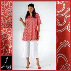 belle association du corail & du blanc pour cette tenue YOEK pour PNY