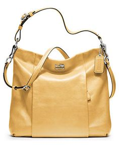 COACH MADISON LEATHER ISABELLE - COACH - Handbags & Accessories - Macys