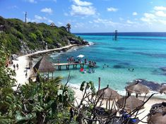 Stay fresh and get adventurous at Garrafon Park, Isla Mujeres, Mexico! A short ferry trip from Cancun, Garrafon offers the most spectacular views in the Mexican Caribbean! Ziplines, kayaks, snorkeling, infinity pool and all you can eat and drink. Great place to spend a hot summer day!