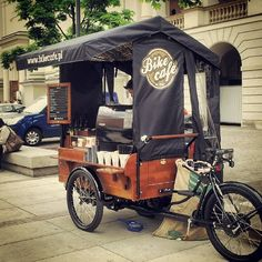 [카페인테리어] Shop in Shop 및 Food truck 인테리어 Food Trucks, Coffee Carts, Coffee Truck, Bike Coffee, Coffee Coffee, Foodtrucks Ideas, Bike Cart, Bike Food, Velo Cargo