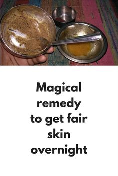 Magical remedy to get fair skin overnight On diamond facial we spend thousands of rupees but today I am going to share one natural remedy that can give you same results at home and as there is no...