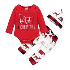 New Baby Gift New Baby Christmas Gift Christmas Onesie Winter Rabbit Sleepsuit Baby First Christmas Outfit First Christmas Gift