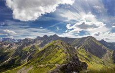 Фотообои купить | Фотообои горный пейзаж облака nature-0000792 цена | Make.ua