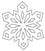 110 best snowflake template images on pinterest christmas