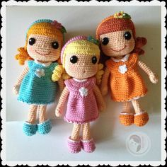 Colorful Lana Doll por AmigurumiBB en Etsy