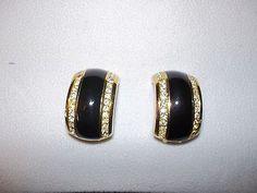 Christian Dior Costume Earrings-NON PIERCED - http://designerjewelrygalleria.com/christian-dior/christian-dior-costume-earrings-non-pierced-2/