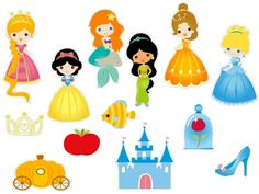 Toppers Digital Princesas