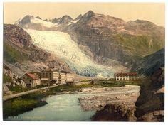 Views of Switzerland», 1905 bei der Detroit Publishing Company erschienen. Darin abgebildet sind 745 Photochrom Drucke von Schweizer Landschaften, die vermutlich zwischen 1890 und 1900 aufgenommen wurden