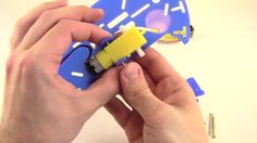 """BlueBot 4-in-1 Robotics Kit"": Motion-activated, light-tracking, line-following, and obstacle-avoiding... students can build one #robot or try them all with the new BlueBot kit from the Science Buddies Store. Each robot project explores the use of a different kind of sensor. [Source: Science Buddies, https://store.sciencebuddies.org/JAM-6300-KIT/educational-robotics-kit.aspx?from=Pinterest] #STEM #scienceproject #sciencekit #bluebot #robotics #engineering"