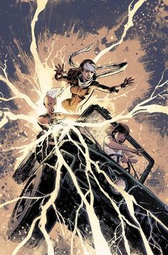 Storm, Rogue, Kitty Pryde - Gabriel Hardman