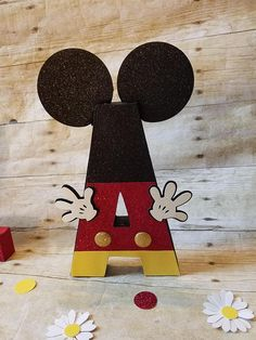 This Paper Maché Free Standing Decorated Letters Are perfect For Minnie mouse or Mickey mouse Theme Party Decoration , Cake Table, Nursery Room or For a Photo Prop For Your Little one, Baby Shower And Much More... YOU CAN CHOOSE HOW YOU WANT YOUR LETTERS..... IT Can also be made