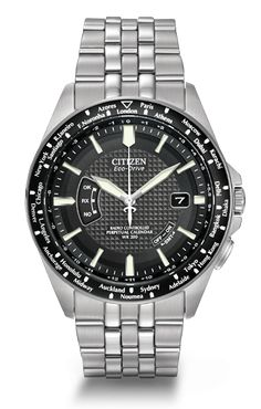Citizen Eco-Drive World Perpetual A-T CB0020-50E Atomic Timekeeping