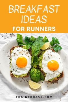 If you have got into running to lose weight or to be healthier you my friend, are on the right path. In addition to running, the foods you consume can help you reach your goal. Breakfast is the most important meal of the day especially after you run in the morning.After my early runs I realized that it is the first step in eating healthy and since I was out burning calories, I needed to put good calories back in.I found these 8 recipes to be delicious. Healthy Breakfasts, Healthy Breakfast Recipes, Eating Healthy, Healthy Food, Healthy Recipes, Jogging For Beginners, Beginner Running, Running Tips, Proper Nutrition