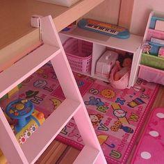 ロフトベッドと遊び部屋