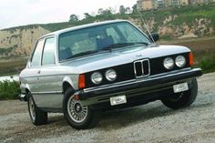 1983 BMW 320I 5 speed.  I bought this car shortly after moving to Vermont.  It was a decent car but expensive to fix.