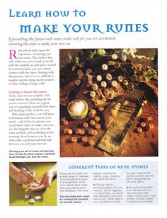 Learn how to make your Runes